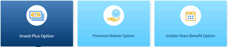 3 plan option of HDFC Life Click 2 Wealth Policy