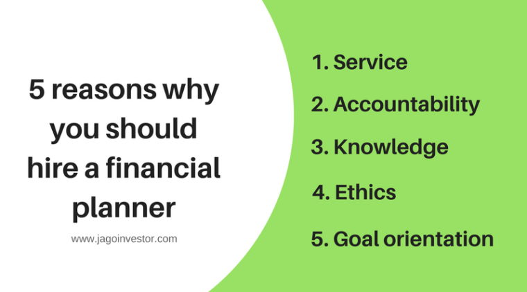 5 reasons why you should hire a financial planner