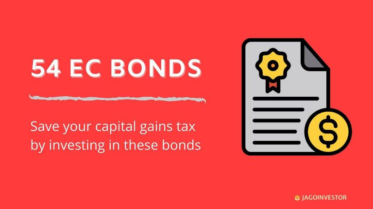 54 ec bonds for saving capital gains tax