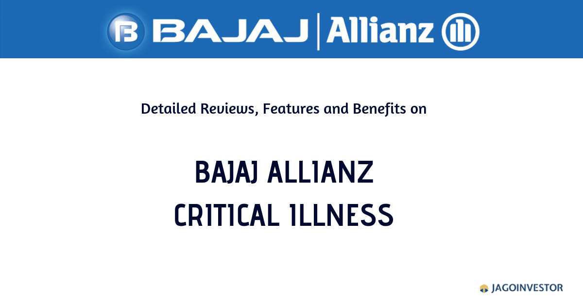 Bajaj Allianz Critical Illness policy
