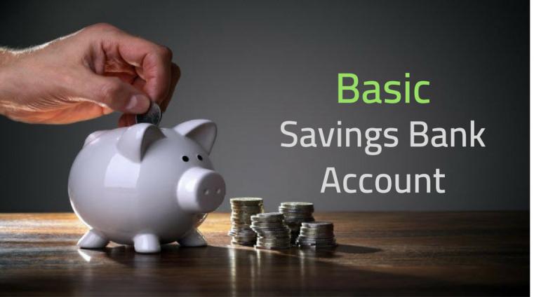 Basic savings bank account