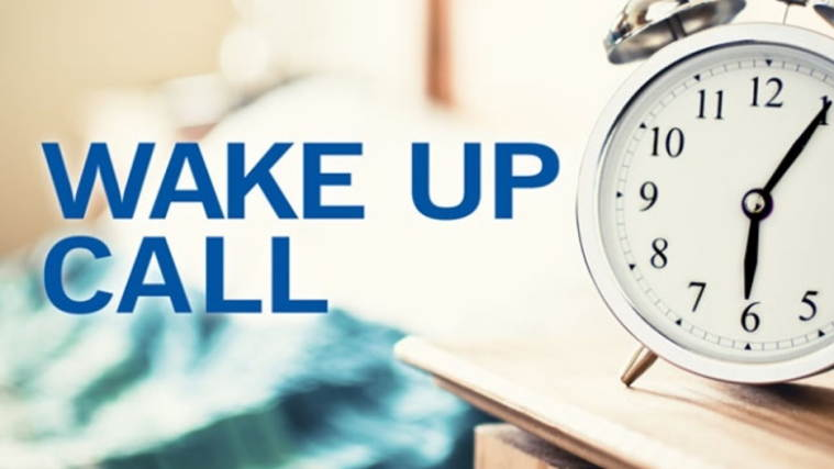 Financial life - wake-up call