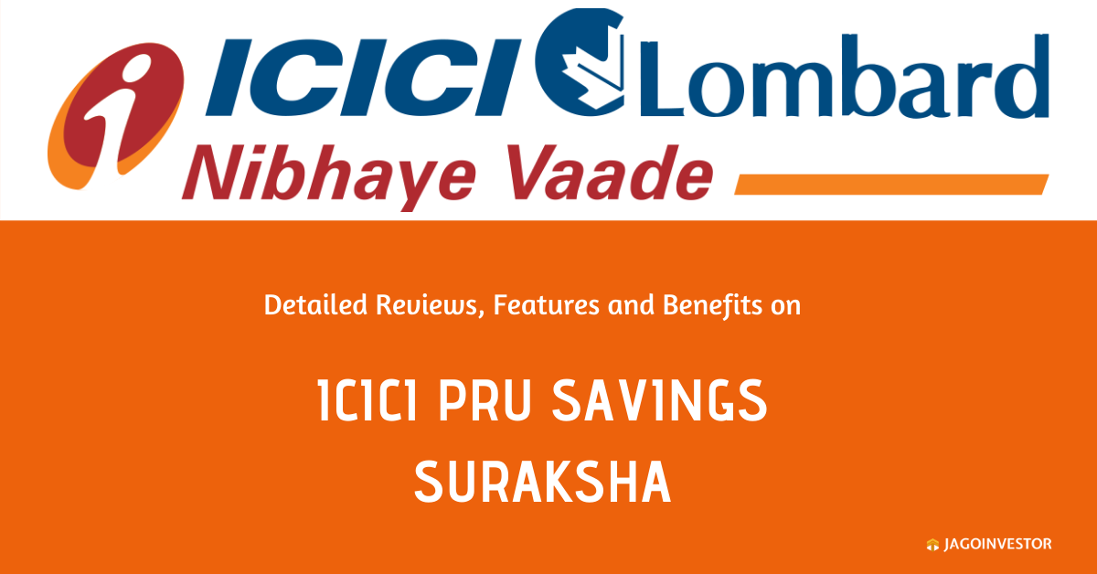 icici pru savings suraksha policy