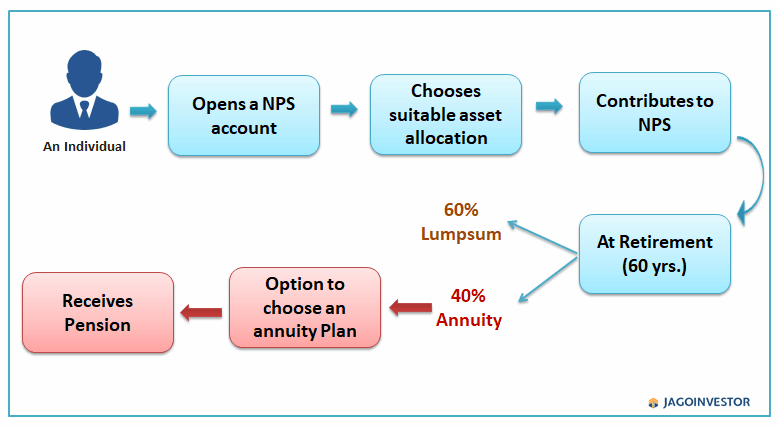 Flow chart on NPS process
