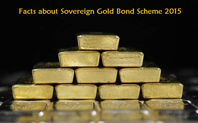 Sovereign Gold Bond Scheme 2015