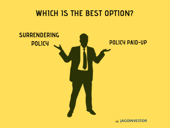 Surrender v/s Paid-up – which is better option for your ...