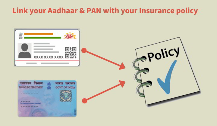 Why to link your adhaar and PAN with LIC and other insurance policies