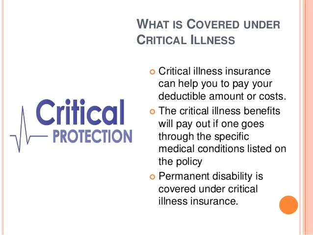 benefits of critical illness insurance in India