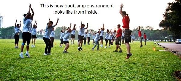 bootcamp environment