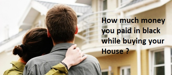 Bought house by paying in black