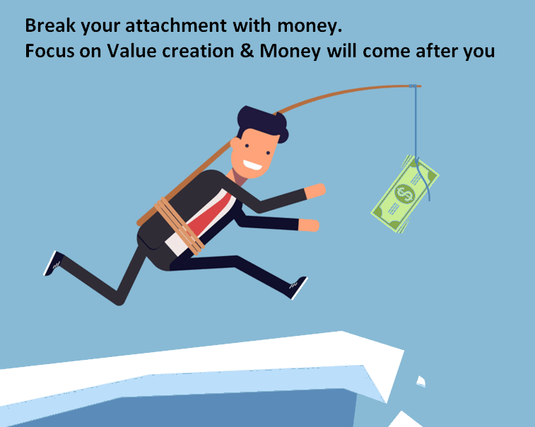 Break your attachment with money