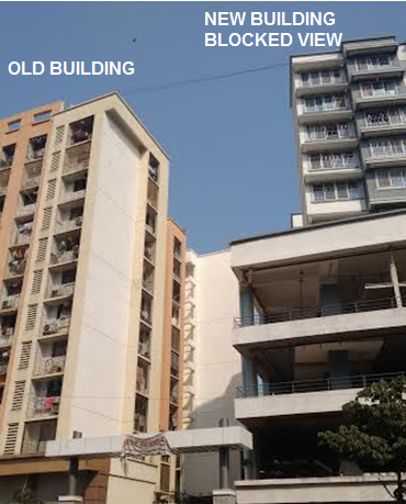 building blocking view