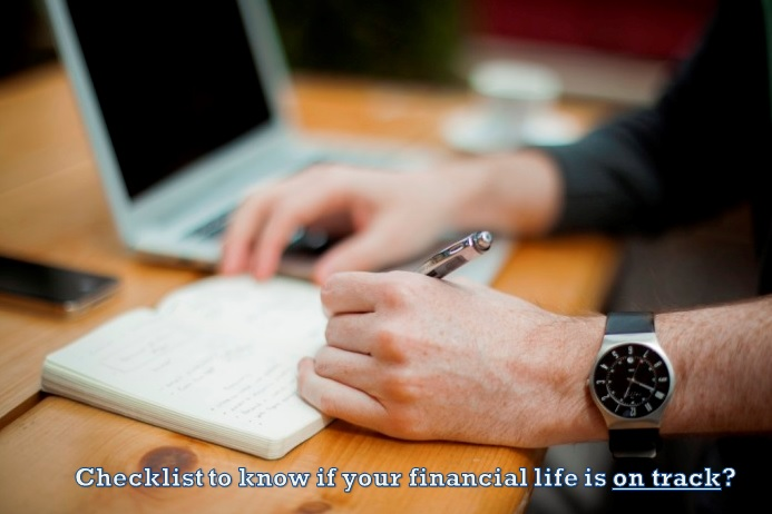 checklist of good financial life