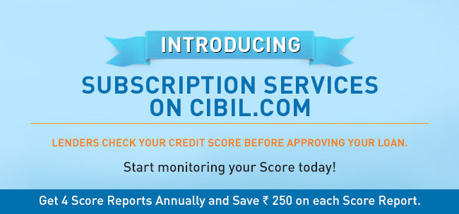 cibil subscription services