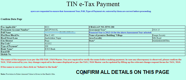 How to pay Income tax online ? Use Challan 280