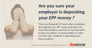 Is your Company Depositing your EPF money ? Are you Sure?