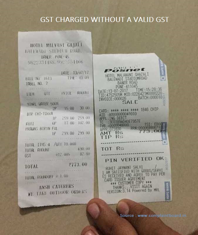Fake GST number on the bill? Here is how to verify in 30 seconds