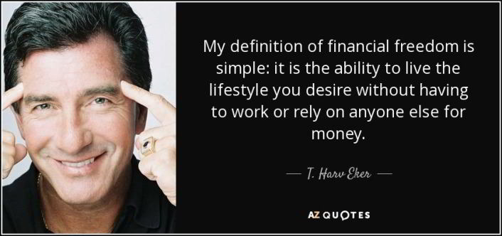 meaning of financial freedom