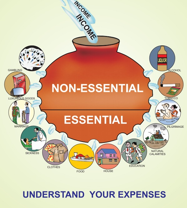 financial literacy from Pradhan Mantri Jan-Dhan Yojana