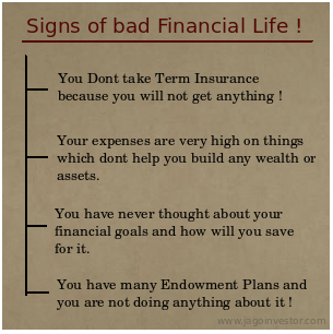 Bad Financial Life signals