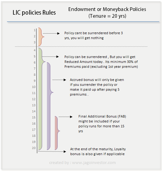 How does LIC policy work?