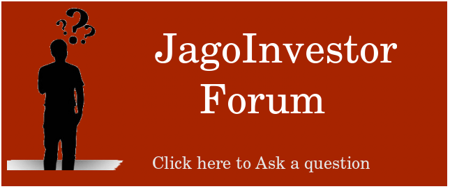 JagoInvestor Forum