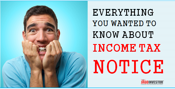 Income Tax Notice - How to Avoid