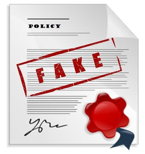 insurance fraud surrender