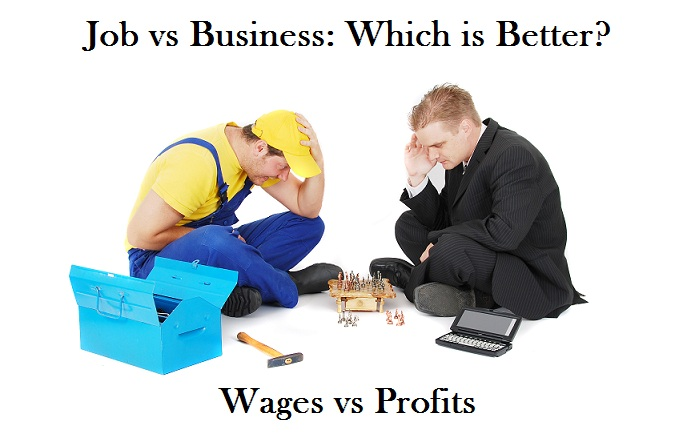 Job vs business - which is better?