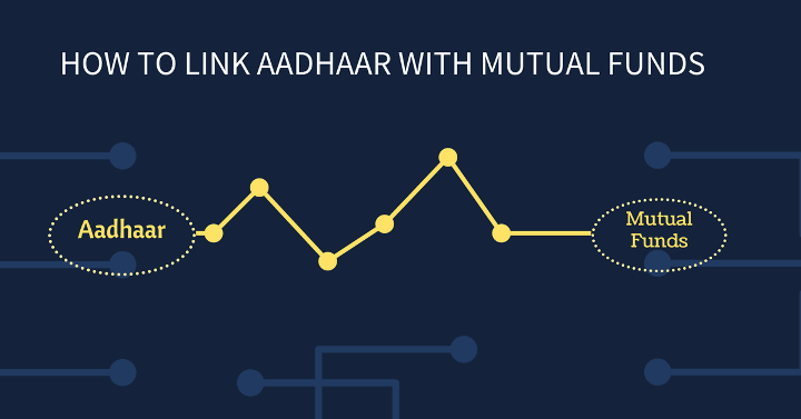 How to link aadhaar card number with mutual funds folio online