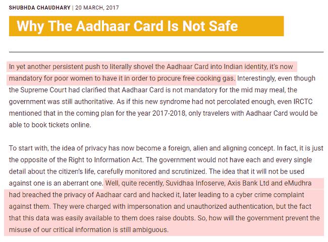 How to unlink Aadhaar from Bank, Digital Wallet & Other Service Providers?