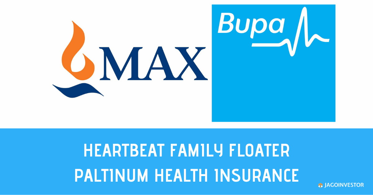 Max Bupa Heartbeat Family Floater Platinum Policy