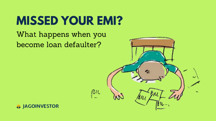 How you become defaulter when you fail to reback back your loans and miss the EMI