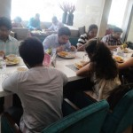Participants Having their lunch