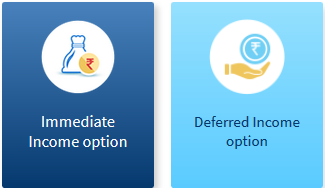 2 Plan option of HDFC life sanchay par advantage policy