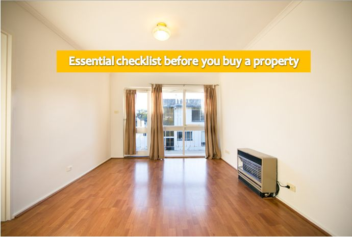 Checklist before buying property in India
