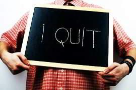 quit job in india