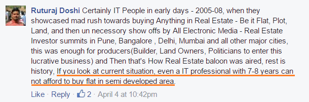 real estate high prices in India