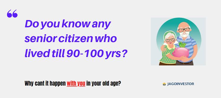 Senior Citizen in India high age