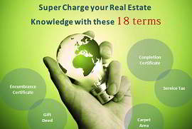 Real estate terms and terminologies