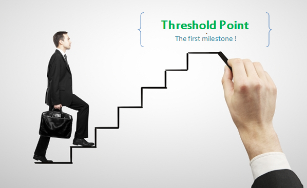 threshold point in financial life