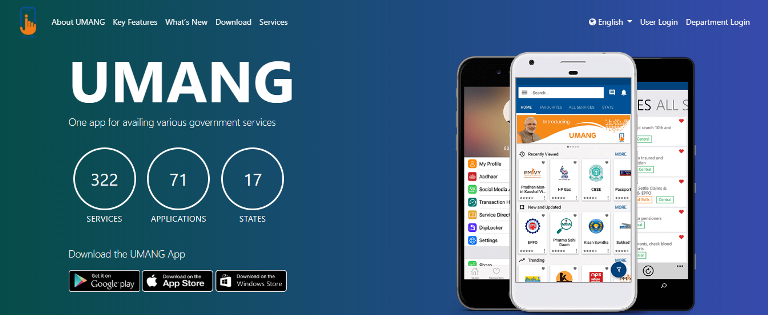 umang app download from google play or app store