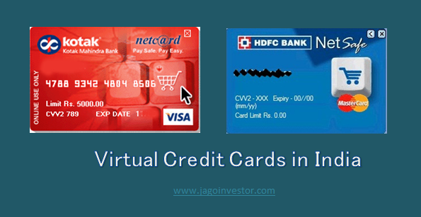 Virtual Credit Cards in India