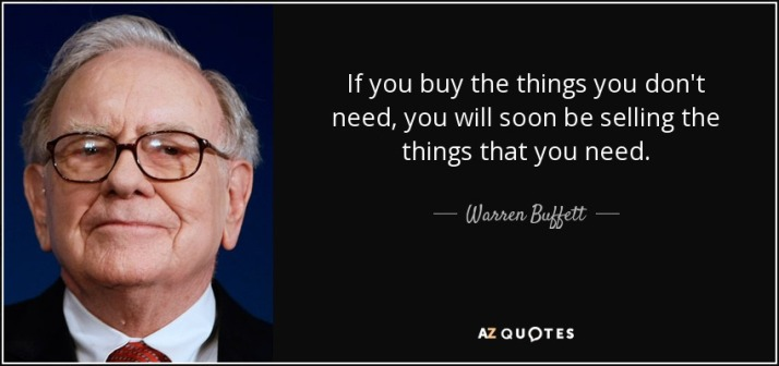 warren buffet money quote