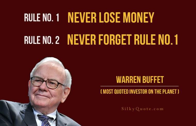 Warren buffets rule of investing