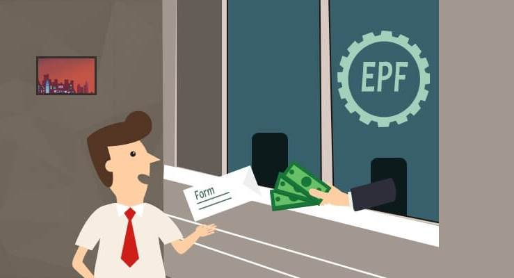 withdraw EPF after death of employee